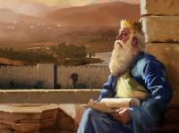 Rey Salomon Escribiendo